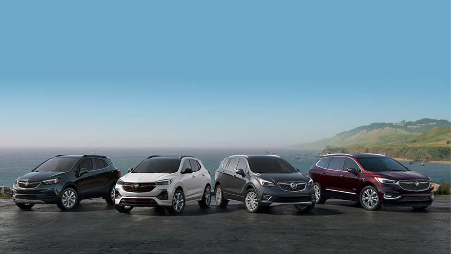Large Inventory of Buick and GMC Models