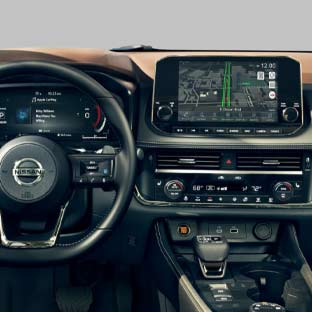 2021 Nissan Rogue Technology Features