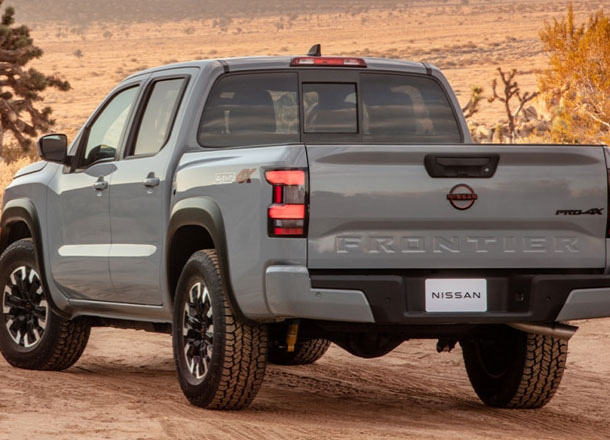 All-New 2022 Nissan Frontier Style