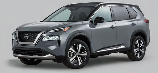 2021 Nissan Rogue Exterior Angle