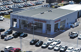 Hudson Nissan of North Charleston storefront