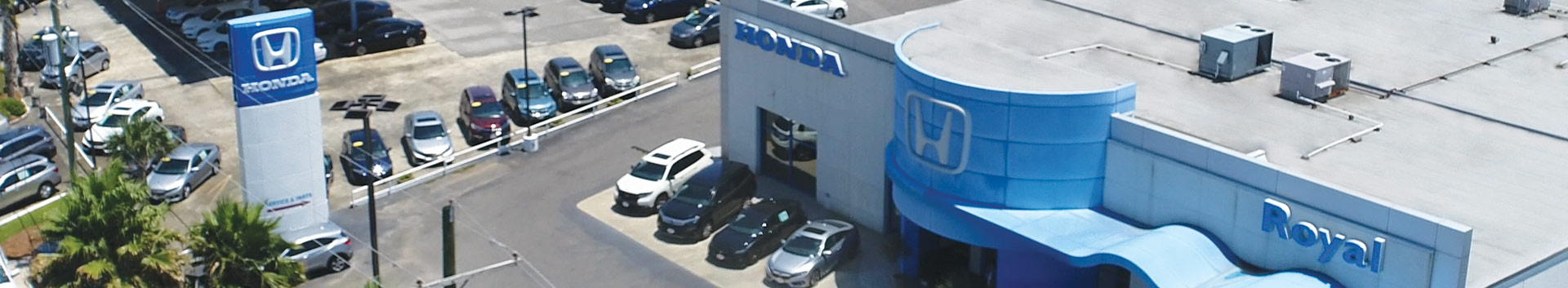 Royal Honda Storefront