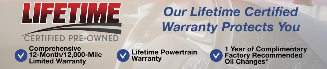 Comprehensive 12-Month/12,000-Mile Limited Warranty