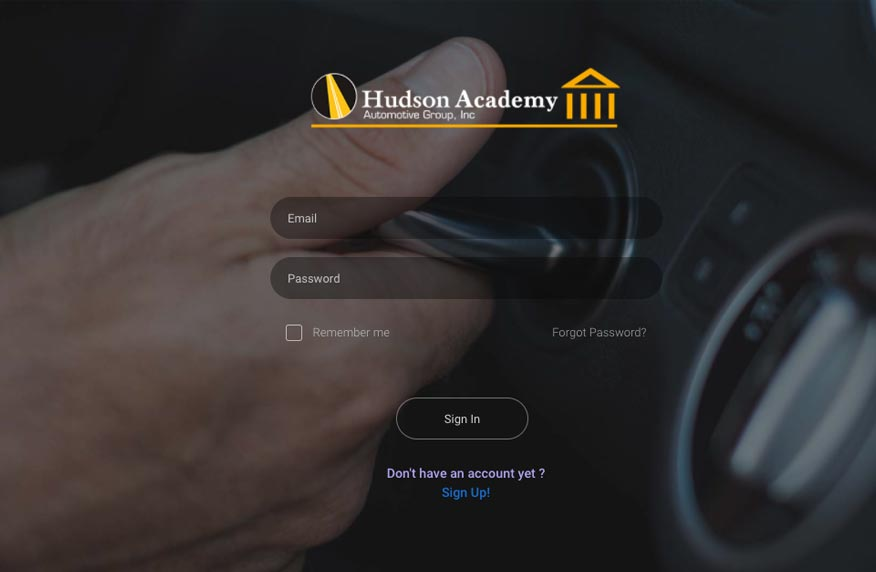 The Hudson Academy Learning Management System
