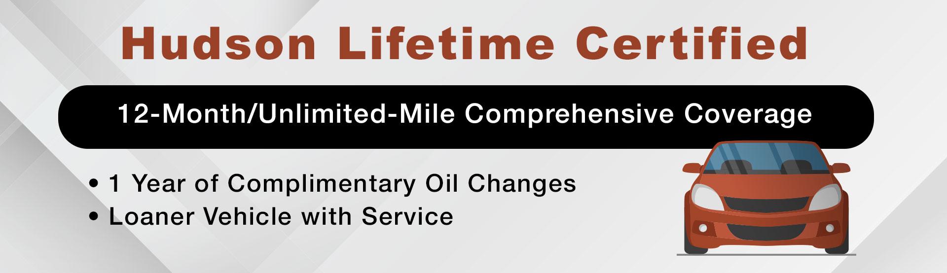 Hudson Lifetime Certified