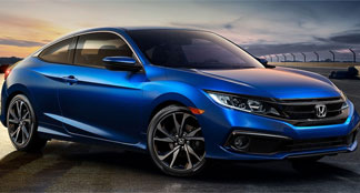 2020 Honda Civic Coupe Lifestyle Photo
