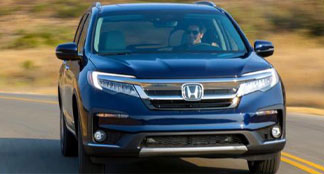 2020 Honda Pilot Lifestyle Photo