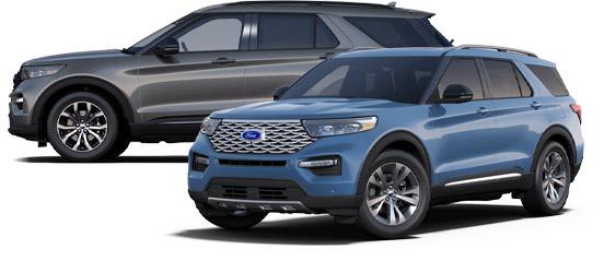 2020 Ford Explorer Exterior Photo