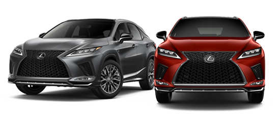 2020 Lexus RX 350 Exterior Photo