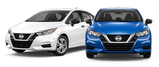 2020 Nissan Versa Exterior Photo