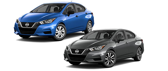 2021 Nissan Versa Exterior Photo