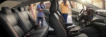 2021 Nissan Versa Interior