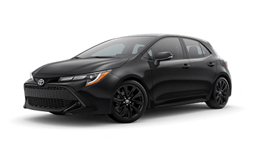 2020 Toyota Corolla Hatchback SE Nightshade Edition