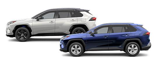 2020 Toyota RAV4 Hybrid Exterior Photo